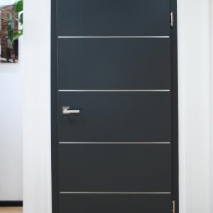 DesignLine Plain 27-07, серый антрацит RAL 7016